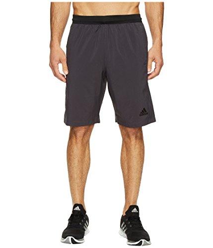 (adidas Men's Designed-2-Move Shorts, Utility Black, Large )