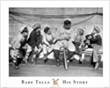 Babe Tells His Story 16x20 Art Print Poster Babe Ruth New York Yankee Picture Outfielder Boston Red Sox World Series Major League Baseball Hall of Fame