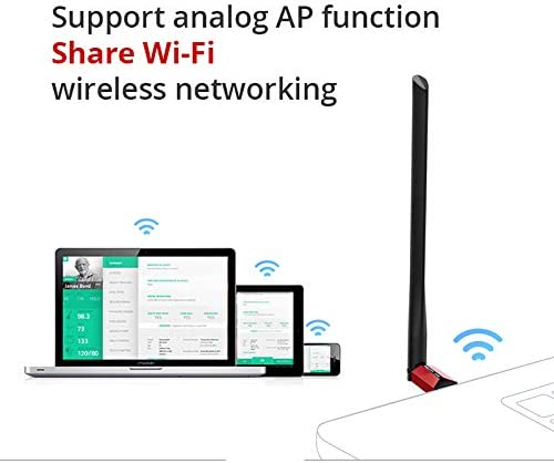 Wireless WiFi USB Adapter 150Mbps WiFi Antenna Network Card Driver Free USB 2.0 Support Analog AP TL-WN726N