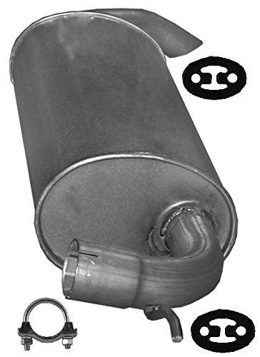 ETS-EXHAUST 52927 Exhaust Rear Silencer + complete mounting kit (fits FREELANDER 2.0 D 110hp 2000-2006)