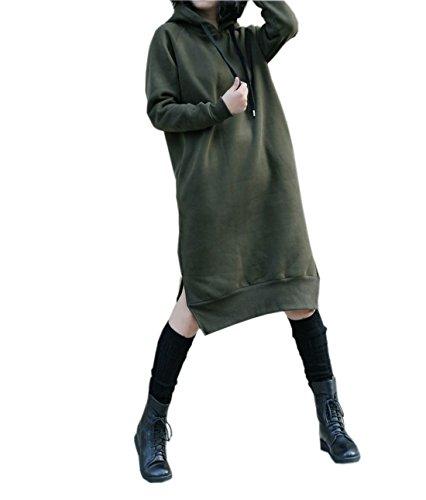 Buy casual hoodie sweatshirt dress - 8