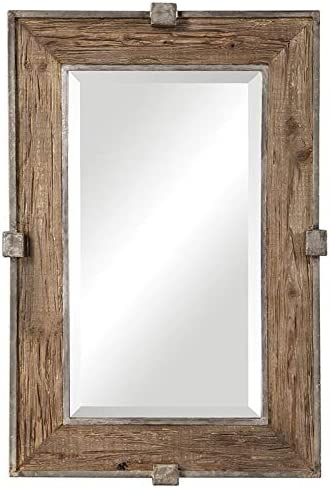 Uttermost Siringo Natural 25 1 4 x 37 1 4 Wall Mirror