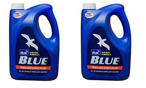 Elsan Twin Pack 2L Blue Toilet Fluid Twin Pack