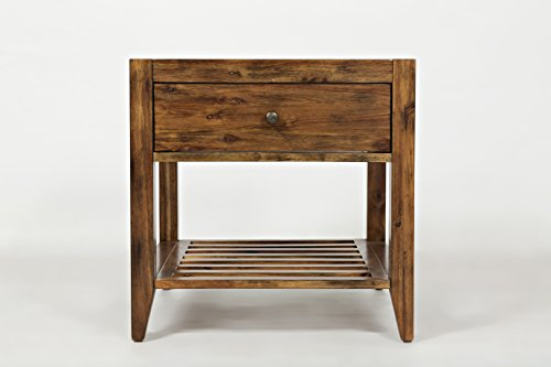 "Jofran: 1649-3, Beacon Street, Square End Table, 24""W X 24""D"