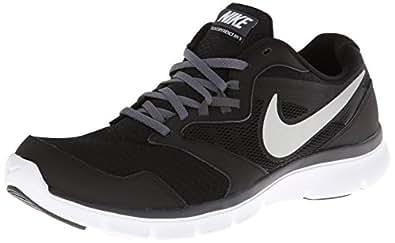 Nike Men's Flex Experience Rn 3 Black/Mtllc Slvr/Drk Gry Gry/White Running Shoe 7.5 Men US