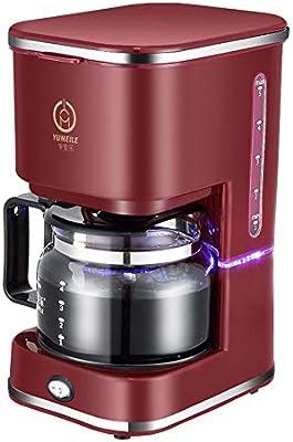 Filtro De La Máquina De Café, Mini Cafetera Estadounidense Programable, 750 Ml (5 Tazas), Aislamiento Automático De 1 Hora, Embudo Extraíble Para Facilitar ...