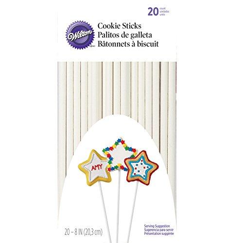 Wilton Cookie Sticks, 20-Count, 8-Inch ()