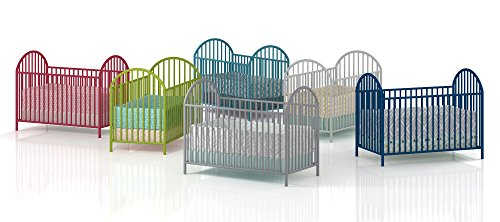 - Amazon.com : Cosco Applegate Metal Crib, Lime Green : Baby