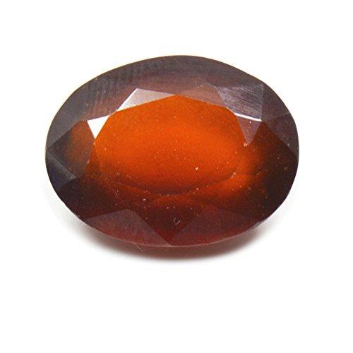 55Carat 9.25 Carat Oval Shape Loose Hessonite Garnet Gemstone for Ring or Pendant