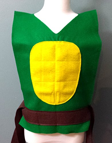 Kids Teenage Mutant Ninja Turtle Costume Tunic (TMNT) - Baby/Toddler/Kids/Teen/Adult Sizes by Teatots Party Planning