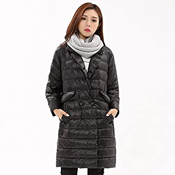 Amazon.com: Baby-QQ Nice 1PC Thin Down Jacket Women Winter Coat Womens Down Jackets Long Coats Parka Chaquetas Mujer Jaqueta Feminina Inverno Z733: Clothing