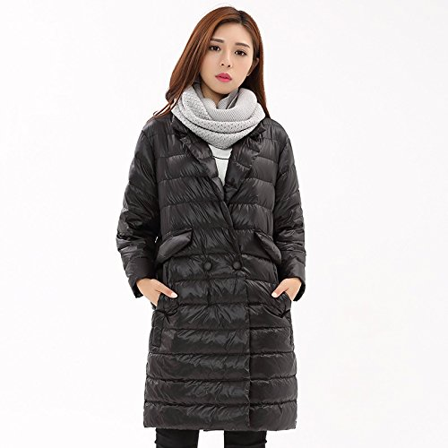 Thin down jacket women's