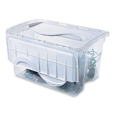 Amazon.com: Sterilite 19148006 Storage Box, tapa abatible ...
