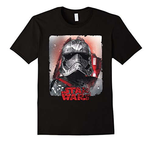 Star Wars Last Jedi Captain Phasma Distress Graphic T-Shirt