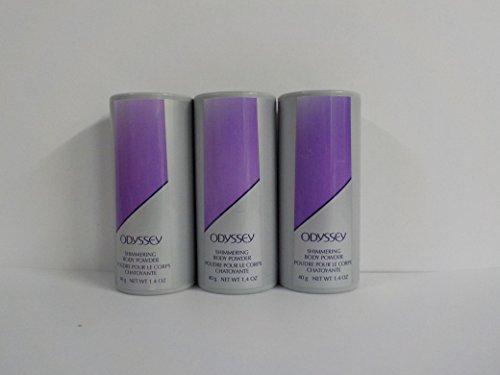 Avon Odyssey Shimmering Body Powder 1.4 oz. (lot of 3)