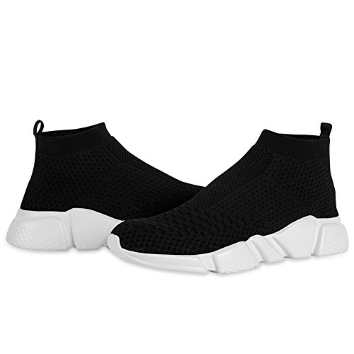YALOX Men's Walking Shoes Lightweight Slip On Sneakers Fashion Casual Breathable Athletic Running Shoes(42EU,Black-2) by YALOX (Image #3)