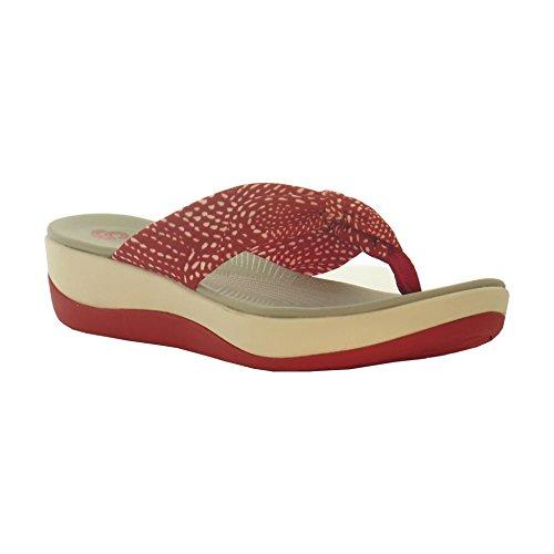 clarks-arla-glison-red-combi-textile-womens-sandals-85-us