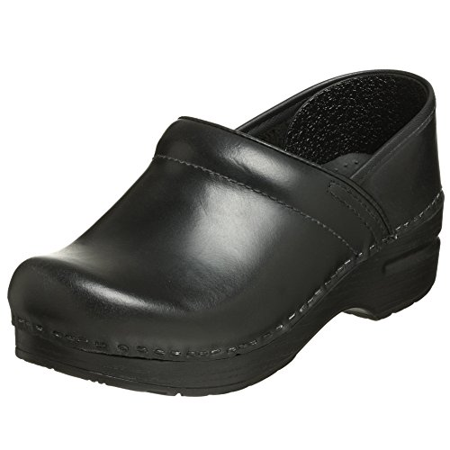 Dansko Women's Professional Mule,Black cabrio,40 EU/9.5-10 M US (E 40 Go Hard Or Go Home)