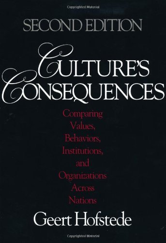 Download Culture's Consequences: Comparing Values, Behaviors, Institutions and Organizations Across Nations:2nd (Second) edition pdf