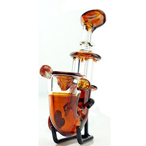 41Al3o2psqL B-boger Amber Hand Small Glass Craft