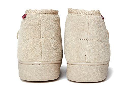 Zapatillas de casa de piel de oveja ATENAS Beige