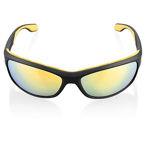 ilikable Sports Sunglasses UV Protection Outdoor Polarized Sunglasses Men Women Goggles Glasses for Cycling Running Vacation Golfing Hiking Outdoor Activities - - Combined Sunglasses And Glasses