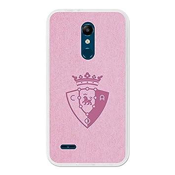 Osasuna Carcasa Oficial Escudo Rosa LG K11: Amazon.es ...