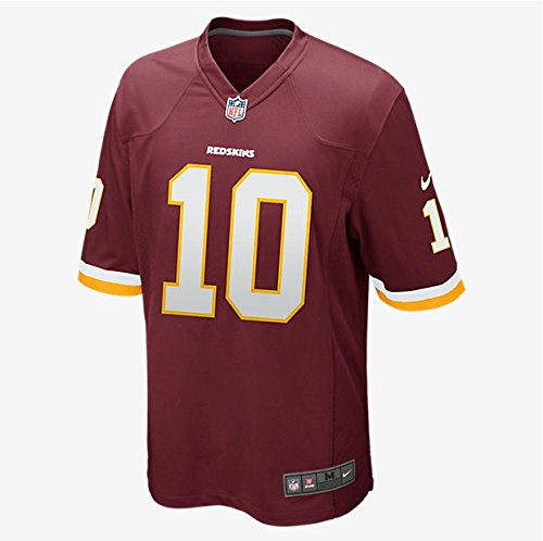 Robert Griffin III Jersey: Home Burgundy Men's Game Nike Washington Redskins Jersey (Small)