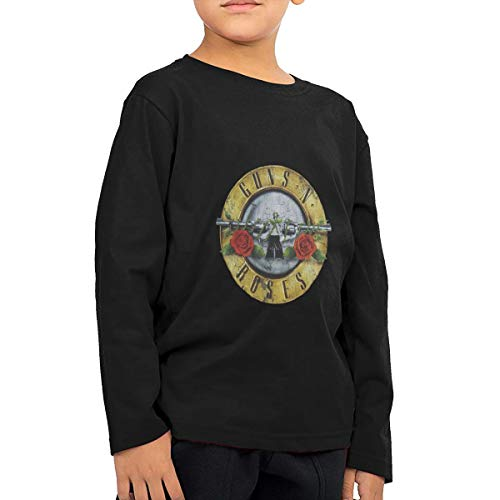 Logos De Bandas De Rock Children's Cotton Long Sleeve T-Shirt Toddler Tshirt Boys & Girls Tee for Kids -