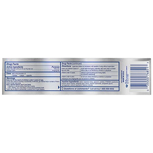 Buy toothpaste for plaque removal