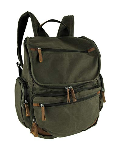 Dopp Mens Rugged Canvas Laptop Backpack