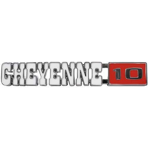 """Trim Parts 9721 Truck Front Fender Emblem (1971-1972 Chevy """"Cheyenne 10"""" GMC) ()"""