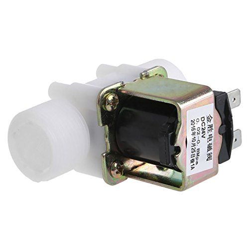 HEIYAO 3//4 DC 24V PP N//C Electric Solenoid Valve Water Control Diverter Device