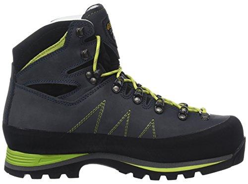 Asolo Uomini Lagazuoi Gm Mm Trekking- & Verde Wanderschuhe (blu Navy / Verde Lime A673)