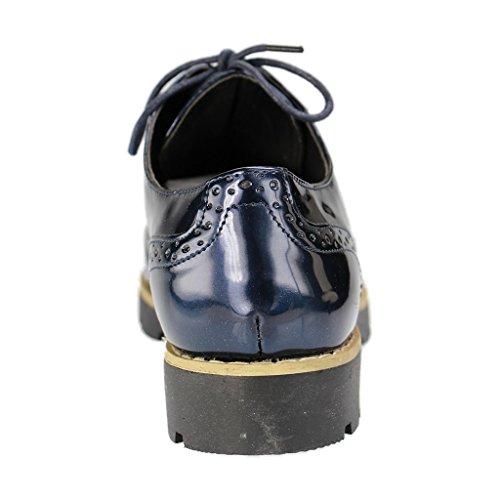 Fitters Donna Blu Scarpe Footwear Stringate FwFqSOB