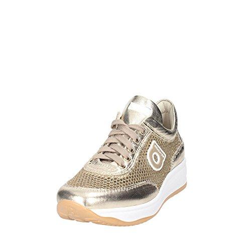 Rucoline 1304 Til 82.983 I 1304 En Netlam Sneaker Perforeret Sølvfarvet Nye Forår Sommer 2017 Guld KAx4uv3Oq3