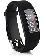 Fit-power ersättningsarmband med spänne för Garmin Vivofit 2 band/Garmin Vivofit 2 armband/Garmin Vivofit 2 fitnessband (ingen spårare)