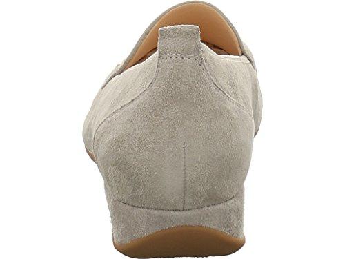 Hassia 301744-6900 - Mocasines de Piel para mujer gris