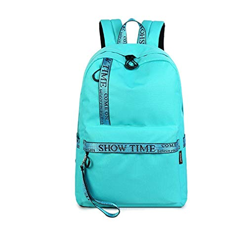 Sky Treestand - Waterproof Fabric Women Daily Backpack Casual Printing School Backpack Bag For College Girls & Boys Laptop Dayback Sky Blue 14 Inches