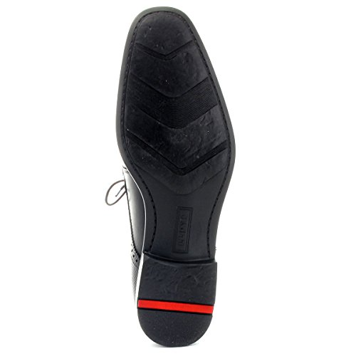 LLOYD 26-552-10 Dejan - Business Schnürschuh - Toscana Calf schwarz - Gummisohle Schwarz