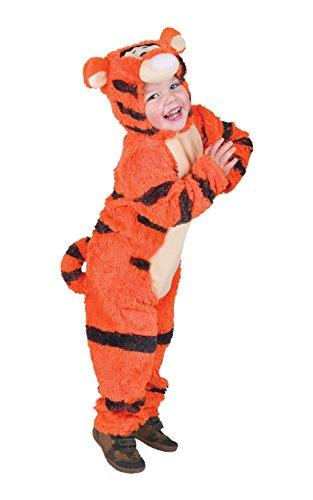 [Winnie the Pooh - Furry Tigger Costume - Toddler] (Tigger Costume Makeup)