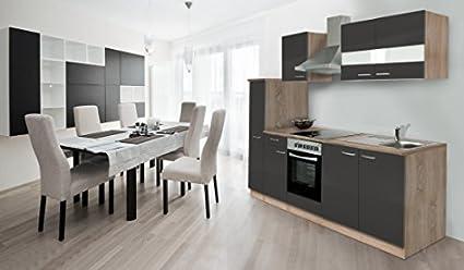 RESPEKTA incasso cucina angolo cottura 240cm rovere ruvido-segato ...