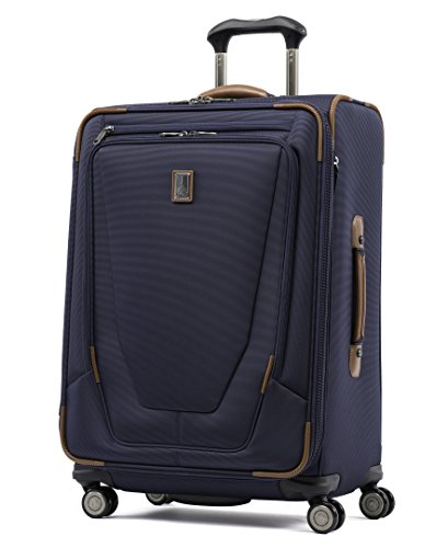 Travelpro Crew 11 25'' Expandable Spinner Suiter Suitcase, Patriot Blue by Travelpro