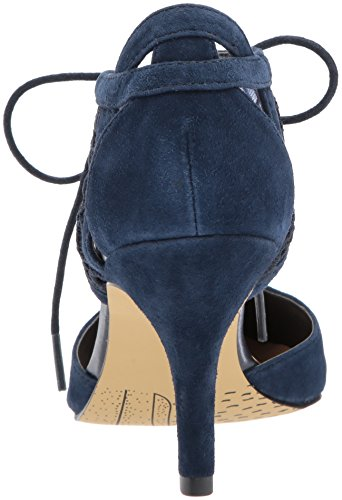 Bella Vita Da Donna Demi Dress Pump Navy Kid Suede