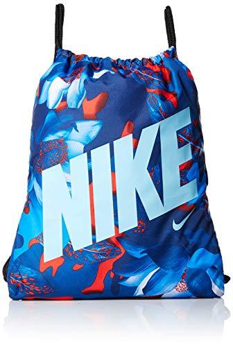 NIKE Youth Gymsack - Gfx, Habanero Red/Black/Blue Gaze, Misc