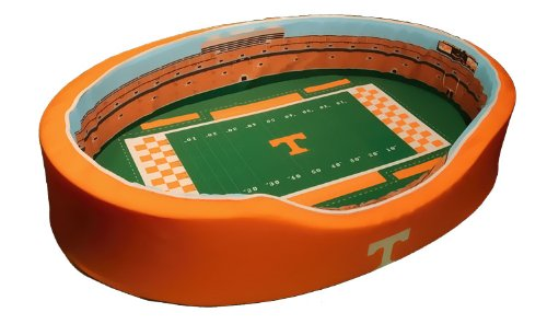 NCAA Tennessee Volunteers Football Stadium Pet Beds, 20 x 30-Inch