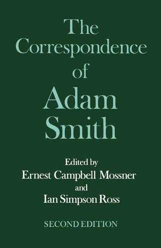 the-correspondence-of-adam-smith-glasgow-edition-of-the-works-of-adam-smith