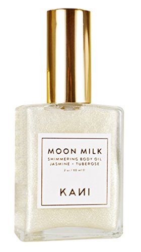 Moon Milk Shimmering Jasmine Body Oil, Kani Botanicals