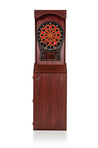 Arachnid Cricket Pro 800 Standing Electronic Dartboard with Cherry Finish, Regulation 15.5