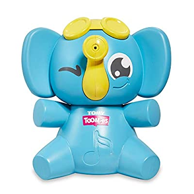 Toomies Tomy Sing & Squirt Elephant Bath Toy - Trumpets, Sings and Squirts Water: Toys & Games